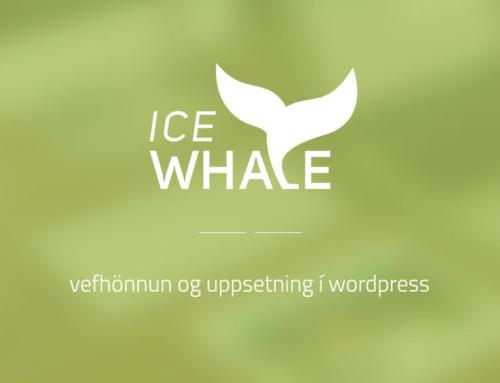 Vefur fyrir Icewhale