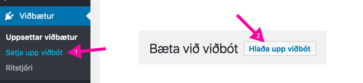 setja-upp-vidbot-i-wordpress-3