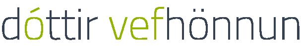 Dóttir Webdesign Retina Logo